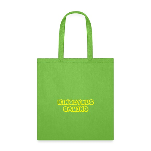KingCyrusGaming Logo - Tote Bag