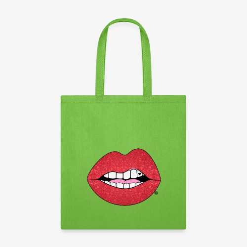 Glitter Lips1 - Tote Bag