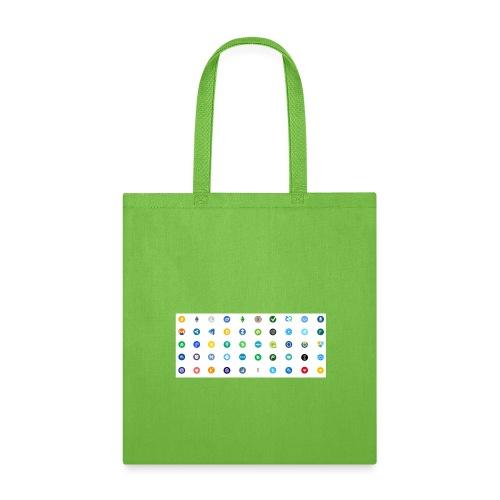 1 Crypto icons - Tote Bag