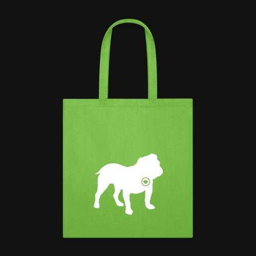 Bulldog love - Tote Bag