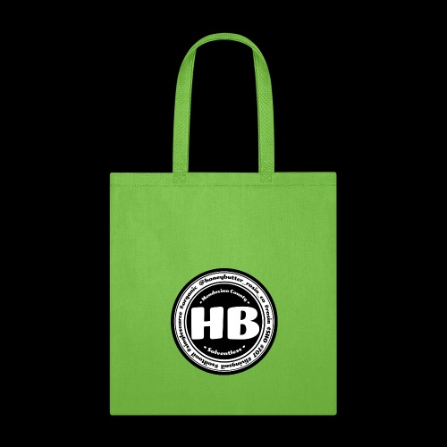 HB Patch Black & White - Tote Bag