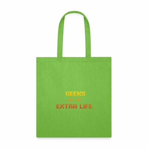 Geek Extra 1 - Tote Bag