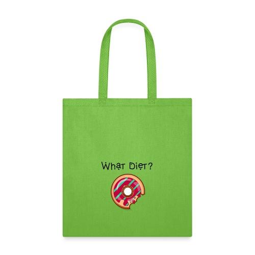 What Diet Tee - Tote Bag