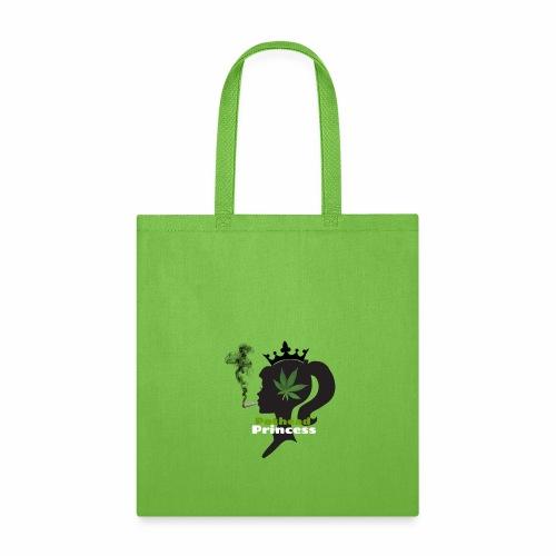 Pothead Princess custom white text - Tote Bag