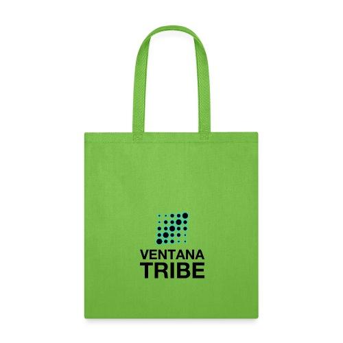 Ventana Tribe Black Logo - Tote Bag