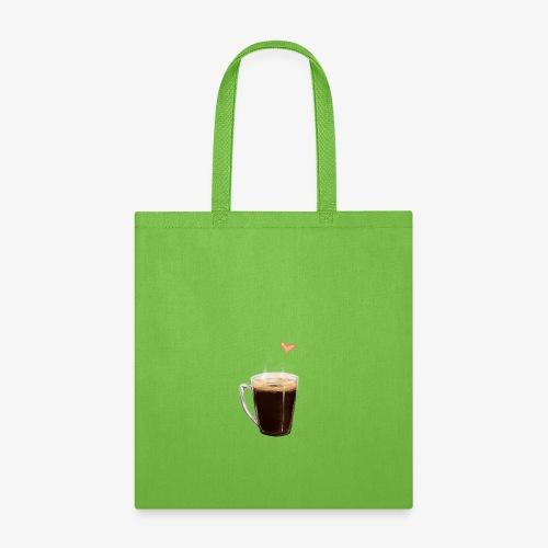 Coffee Cup LOVE - Tote Bag