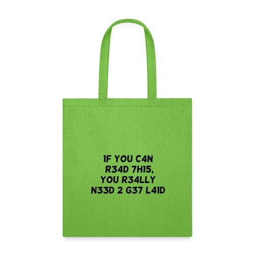If you can read this - Tote Bag