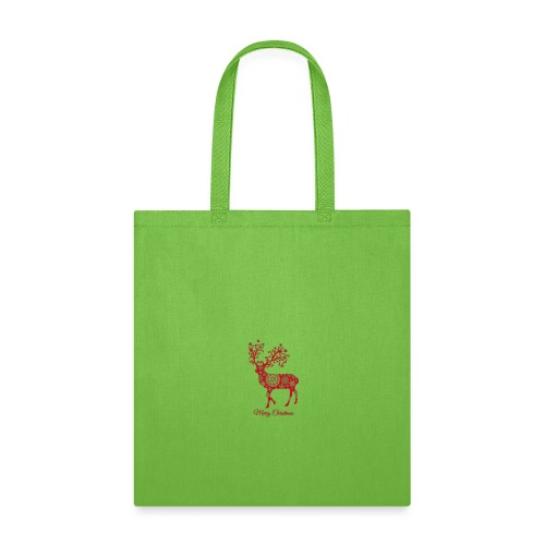 Christmas deer with snowflakes pattern New - Tote Bag