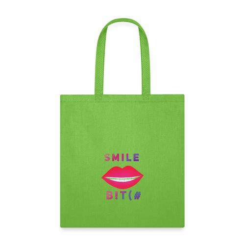 Smile B!T(# - Tote Bag