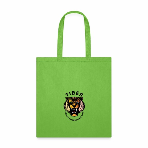 Wild tiger Face Animals Sticker - Tote Bag