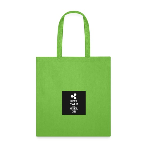 303984810 1020176758 KEEP CALM and HODL ON 1 - Tote Bag