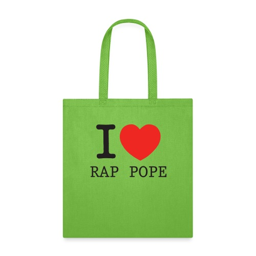I Love Pope png - Tote Bag