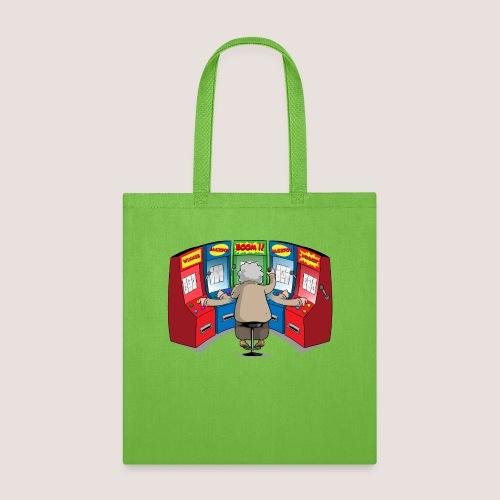 THE GAMBLIN' GRANNY - Tote Bag