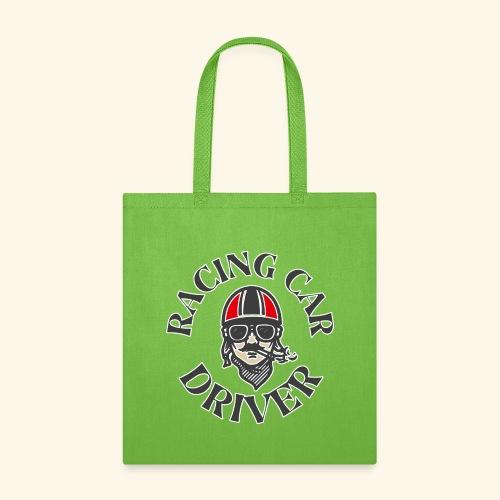 Racing Car Driver - Tote Bag