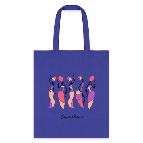 Original Kulture African Sisters Print Colorway - Tote Bag