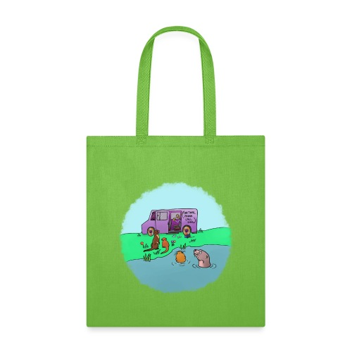 Sleve and the River Otters - Tote Bag