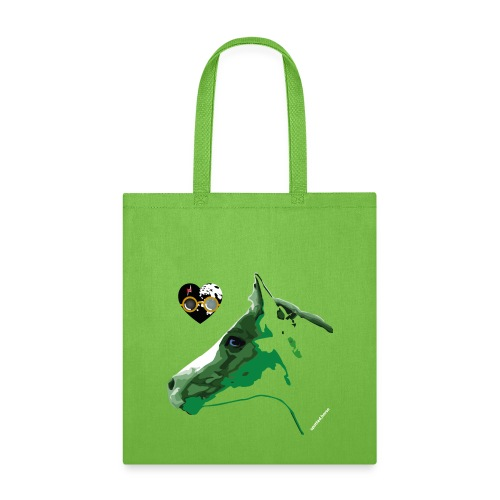 Spotted.Horse Appaloosa Colt Green - Tote Bag