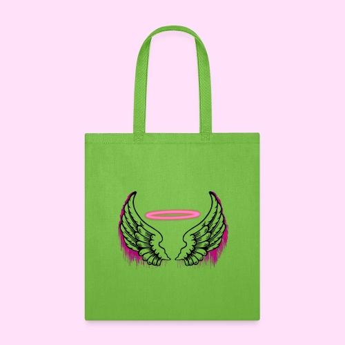 angel wings logo - Tote Bag