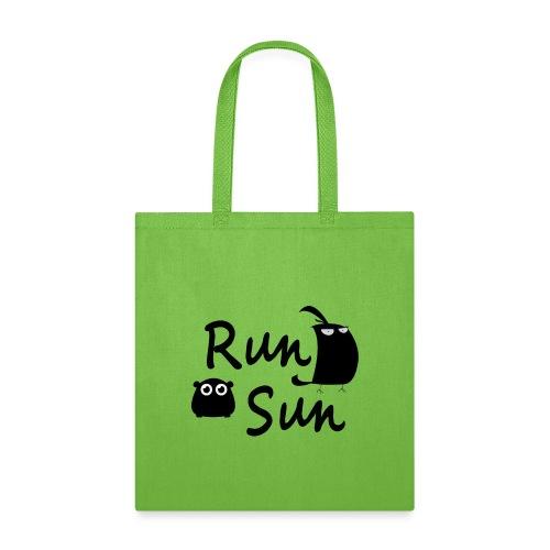 Run Sun Logo - Tote Bag
