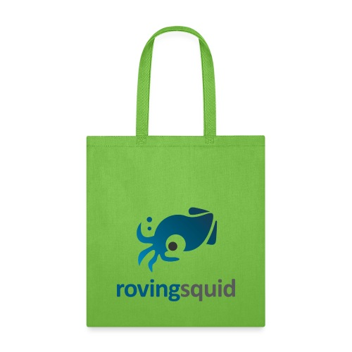 Roving Squid Blue Logo - Tote Bag