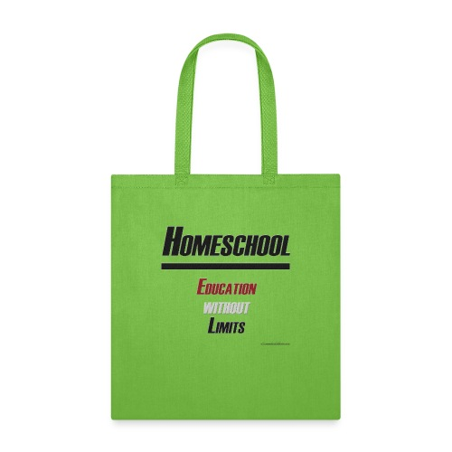 Homeschool Without Limits - Tote Bag