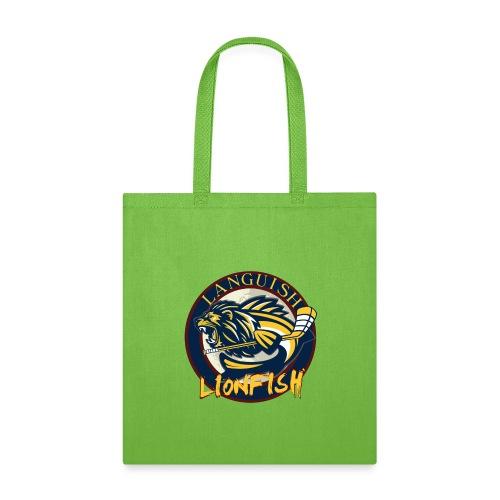 The Languish Lionfish Team Logo - Tote Bag