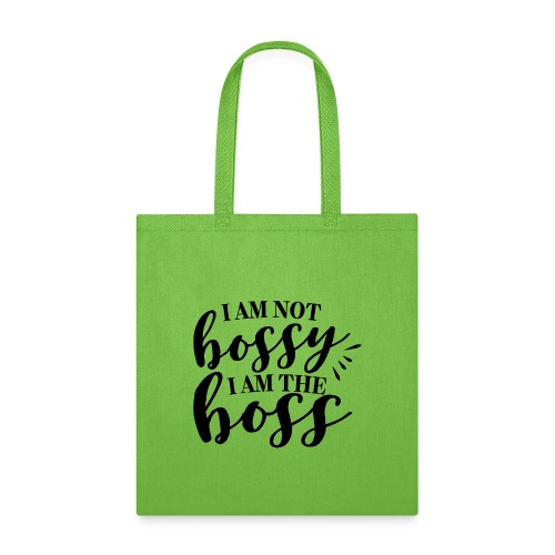 i am the boss - Tote Bag