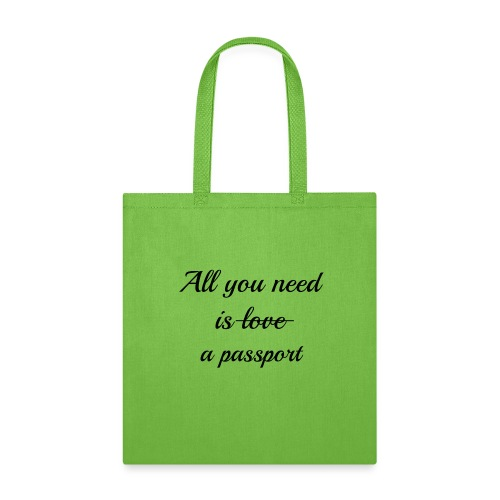 All you need is - black - Tote Bag