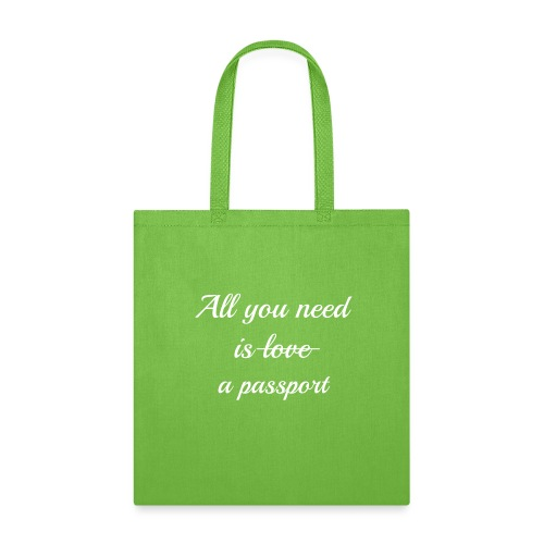 All you need is - white - Tote Bag