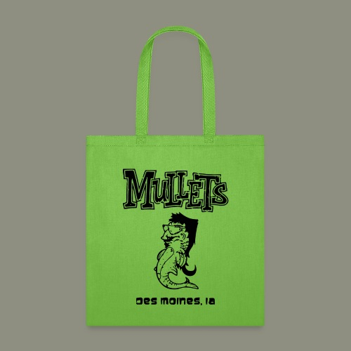 mulletmain black - Tote Bag