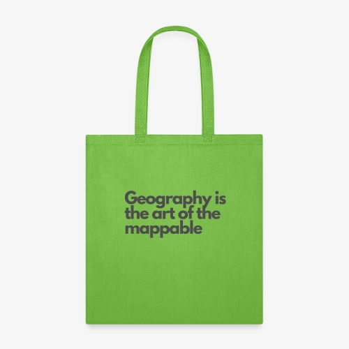 Art of the mappable! - Tote Bag