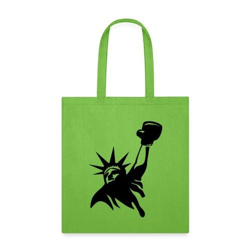 Lady Liberty Design w/ Black RSB Logo - Tote Bag