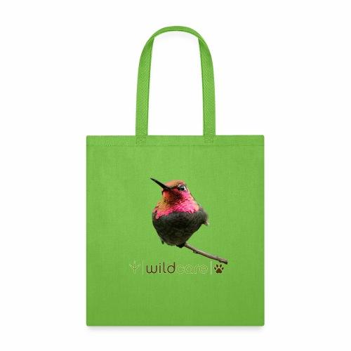 Hummingbird patient at WildCare - Tote Bag