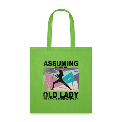 Your first mistake pink blue and purple - Tote Bag