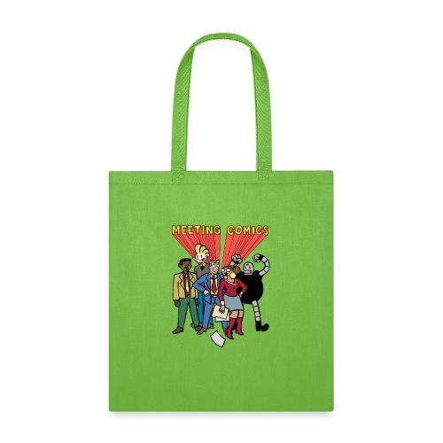 MEETING COMICS CAST - Tote Bag