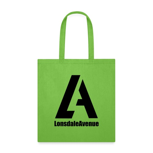 Lonsdale Avenue Logo Black Text - Tote Bag