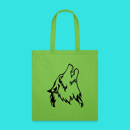 Wolf (back) - Tote Bag