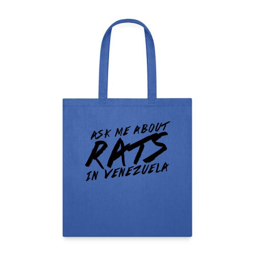 ask me about rats - Tote Bag