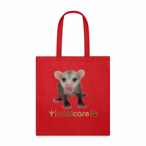 Baby Opossum in Care at WildCare - Tote Bag