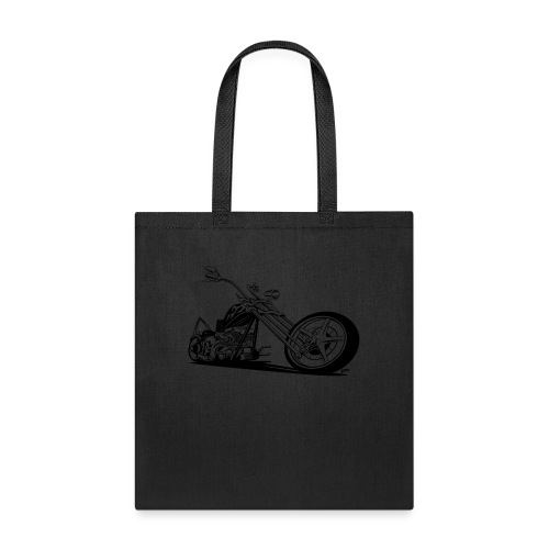 Custom American Chopper Motorcycle - Tote Bag