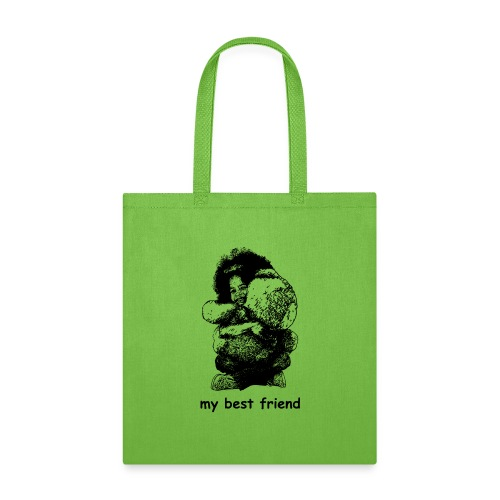 My best friend (girl) - Tote Bag