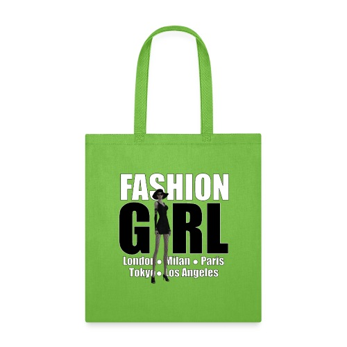 The Fashionable Woman - Fashion Girl - Tote Bag