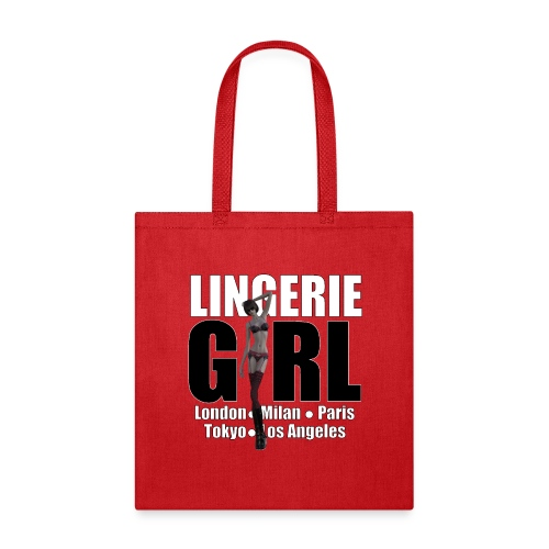 The Fashionable Woman - Lingerie Girl - Tote Bag