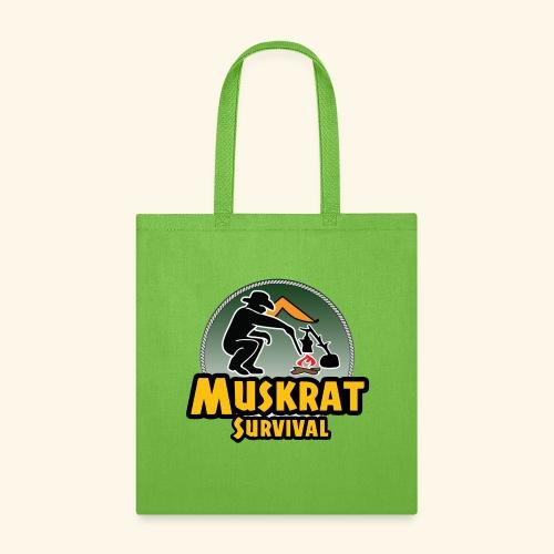 Muskrat round logo - Tote Bag