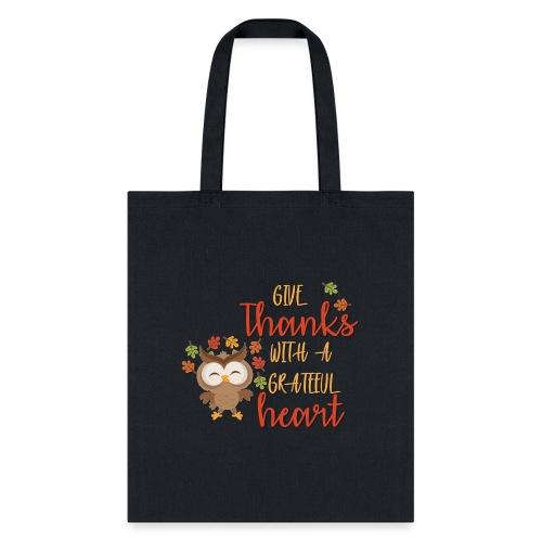 Give Thanks - Tote Bag