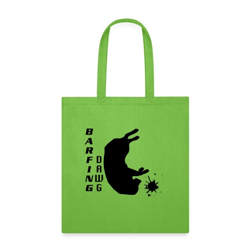 Barfing Dawg 3 - Tote Bag