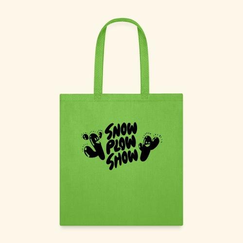 Yati M's Snow Plow Show 2020 Black Logo 1 - Tote Bag