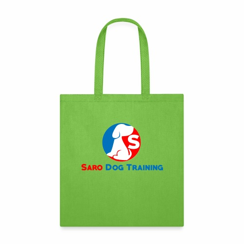 saro dog training logo - Tote Bag