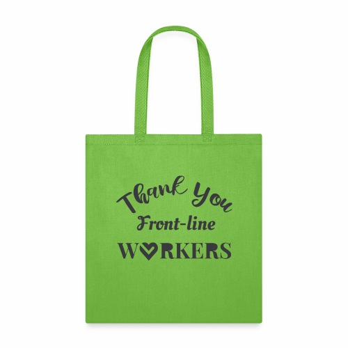 Thank you fronline worker - Tote Bag