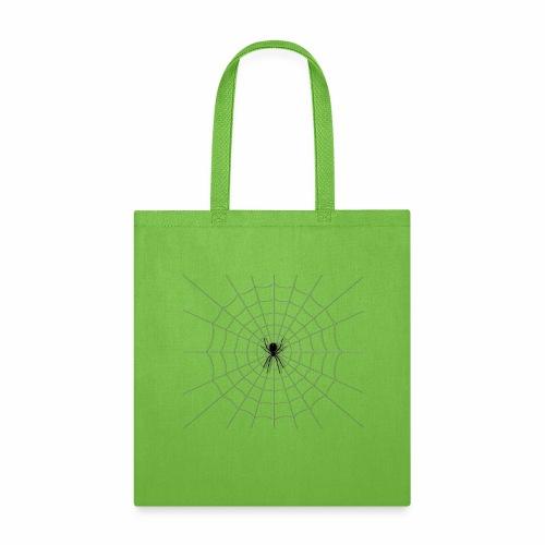 Black Widow on Web - Tote Bag